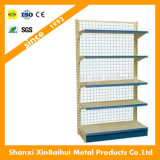 Shelving супермаркета гондолы цены стандартного поставщика полки металла шкафа дешевый