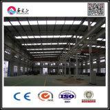 중국에서 모형 디자인 강철 구조물 작업장