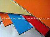 Material compuesto 4m m de aluminio al aire libre de la decoración del panel de PVDF