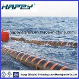 オイルガスおよび石油化学産業のための自己の浮遊ゴム製ホース