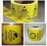 Etichetta adesiva olografica libera del laser