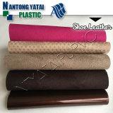 Leer van pvc van het Patroon van het broodje het Synthetische Textiel Waterdichte voor de Zakken van de Bank van Schoenen
