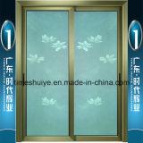 Fabricante de China Foshan (lugar original chino de Kongfu) para la puerta de aluminio