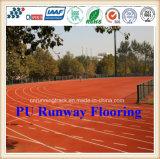 Trilha Running de borracha atlética do plutônio do profissional Eco-Friendly com certificado de Iaaf