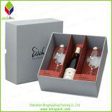 Vakje van de Gift van het Glas van de Wijn van het Document van de luxe het Stijve Verpakkende