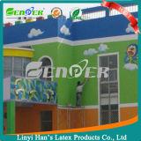 Pintura exterior y interior de pared de revestimiento a base de agua de Han