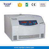 Premier prix à grande vitesse de centrifugeuse de laboratoire du Tableau Tg20