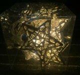 Indicatore luminoso di natale del LED, indicatore luminoso della stringa del LED per la decorazione di natale