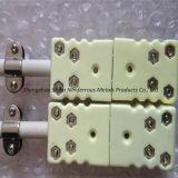 Especializada en alta temperatura Tipo B Platino Rodio termopares para Industrial