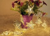 Het LEIDENE Licht van Kerstmis, het LEIDENE Licht van het Koord voor de Decoratie van Kerstmis