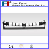 China Industrial Rubber transportband Trough Idler Roller
