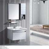 Новой установленная стеной мебель гостиницы нержавеющей стали с бортовым шкафом