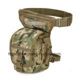 Bolso táctico militar impermeable al aire libre de la pierna de la cintura del recorrido de los deportes de la manera