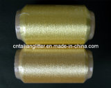 600d Cotton o Viscose Pure Gold e Silver Yarn (S-46A S-131))