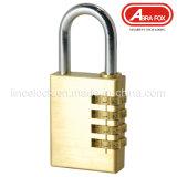 パッドロック、真鍮の組合せのパッドロック