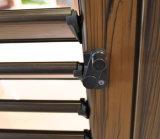 Precio competitivo de aluminio Puerta con rejilla Diseño