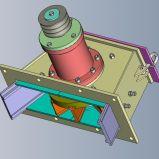 指示運転されたタービン車輪のショットブラスト機械