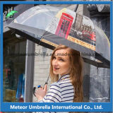 屋外の透過プラスチックPVC Poe明確な昇進の泡傘