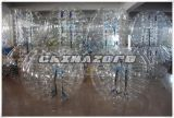 Balón de fútbol inflable transparente de la burbuja del juego loco de los deportes