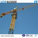 Guindaste de torre do tipo Tc3808 de Katop para a maquinaria de Constructon
