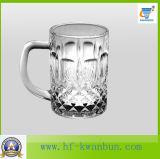 Produtos vidreiros de vidro Kb-Hn097 do copo da cerveja do bigode creativo