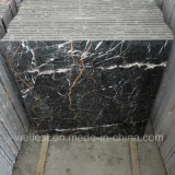 M502 Rosa Portor/Cuckoo Red Dark Brown Marble Polished Flooring e Wall Tile