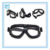Transparent Lens Mirrored Coating Prescription Polarized Dirt Bike Goggles