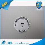 Etiqueta engomada de encargo auta-adhesivo de la cáscara de huevo del vinilo