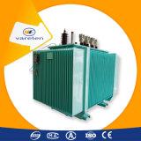Transformateur abaisseur immergé dans l'huile de la phase 33kv 20kv 11kv d'usine de transformateur de la Chine 3
