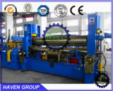 Máquina de rolamento hidráulica resistente da placa do CNC de 3 rolos de W11S