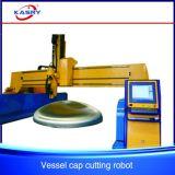 CNC de Scherpe Machine van de Plaat van het Staal met de Functie van de Schuine rand