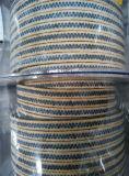 Graphited Verpakking PTFE met Hoeken Aramid