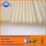 Tubo di ceramica dell'alta allumina pura refrattaria a temperatura elevata della termocoppia/tubo di ceramica poroso