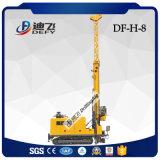Prix hydraulique de machine de plate-forme de forage de faisceau de trou profond de l'exploitation Df-H-8 complètement
