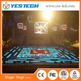 P5.9mm alta resolución interactiva LED pista de baile para Disco Club