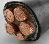 Силовой кабель Rated сердечника 1kv и 3kv напряжения тока медный изолированный XLPE