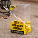 Prototipo plegable plástico impreso fuente del rectángulo de la fábrica de China