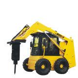 Escavatore a cucchiaia rovescia del caricatore del manzo di pattino del caricatore Ws65 della rotella di controllo della barra di comando di Aria-Condizione con il motore diesel dell'inclusione