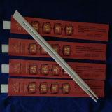 Palillos personalizados bambú con las fundas de la impresión en color