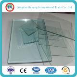 vidrio de flotador del claro de 3m m para la ventana y la puerta