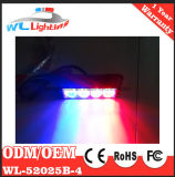 表面取り付け4 W LEDのストロボの警告のヘッドライト