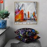2017 het Nieuwe Olieverfschilderij van het Beeld van de Muur van de Straat Abstracte Moderne