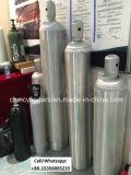Cilindros de gás de alumínio para o CO2/oxigênio/gáss industriais da especialidade/gáss pureza elevada