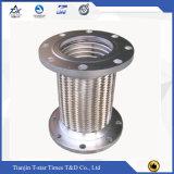 Edelstahl-runzelte umsponnener flexibles Metalschlauch/Wasser-Schlauch