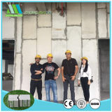 Los paneles de pared aislados prefabricados de emparedado del cemento de la azotea EPS de la pared de partición del bajo costo