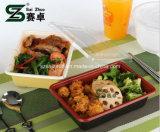Caixa de plástico descartável Bento Box 600ml