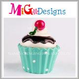 Design Cup-Cake pour les filles Matériel en céramique Piggy Bank