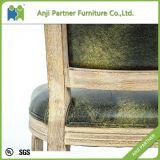 تجاريّة أسلوب [دين رووم] كرسي تثبيت مع ساق خشبيّة (سعادة)