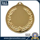 Medaglia lucida di disegno del cliente di alta qualità dell'oro