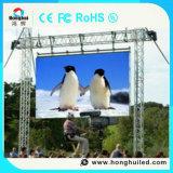 Visualización de LED de alquiler al aire libre del brillo P6 de Hight para la etapa